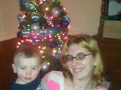 my family at christmas time