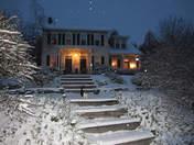 Snow this evening