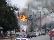 fire, corner of 15th & Culbertson New Albany