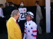 Big Brown's Jockey And Owner