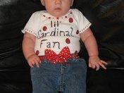 Lil Cardinal Fan!