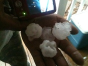 Hail in taswell indiana sent from randi white