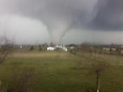 Tornado in Pekin