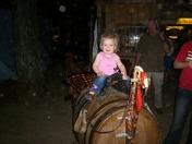 Riding A Turkey Barrel