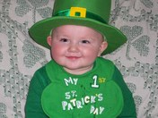 AJ on St. Patrick's Day