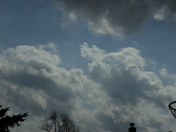Clouds Rolling In - March 2, 2012