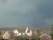 Tornado near New Market