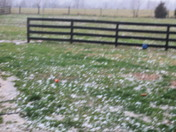 hail in mount Washington KY2 March 2012