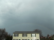 rainbow after the storm in etown march 2, 2012