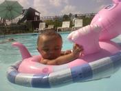 fun time swimming