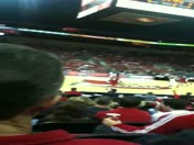 Louisville big man hits a 3