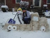 Snowmans' Pick-Up Truck!