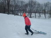 Lexi & Paw Paw sledding 2-13-10 020.JPG