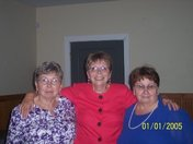 Mom is one in Blue, with her siblings Faye, Becky,