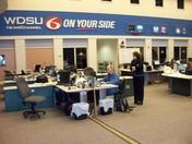 WDSU at work