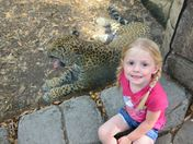 Isabella at the Zoo