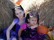 JoLeen & Skylar at the pumpkin patch
