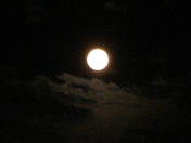 How the moon looked by me.