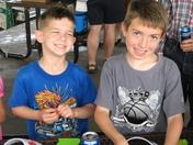 Scott & Darren @ my company picnic