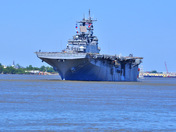 USS Wasp sailing out