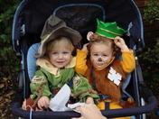 Scarecrow & Cowardly Lion
