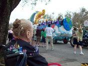 Grandma Enjoys the Parades