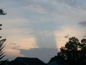 evening sky in slidell 3/29/12
