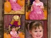 Zowie in the pumpkin patch