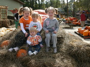Cousins on the search for the perfect pumpkin
