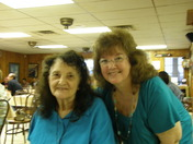 Mom and me at Bayou Delight