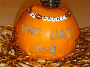 Who Dat Pumpkin