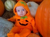 Jackson at the Pumpkin Patch