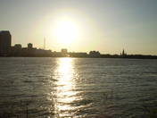 Spring Time Sun Set From Algiers Point