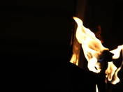 Night Fire at Muses