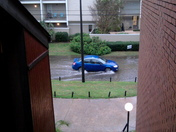 Street flooding in metairie