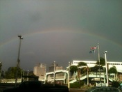 Rainbow from Algiers Point