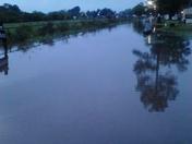 Rain came down al nite in Houma