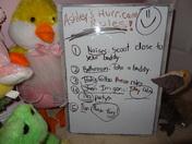 ASHLEY's HURRICANE INSTRUCTIONS