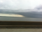 Weather over the lake taken from causeway