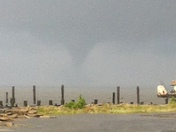 Water spout in Madisonville