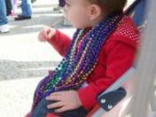 Paris Rose's First mardi gras