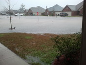 Flooding in Bedico Meadows subdivision