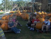 Pumpkin patch at FUMC in Slidell