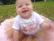 5 month old Leah Yates