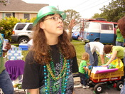 Seeing Mardi Gras Parade First Time