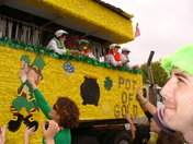 Found the Pot O'Gold! - St Patrick's Day Mardi Gras Parade