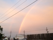 Beautiful Rainbow/Calm before the storm