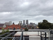 NOLA from our rooftop