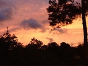 sunset during Isaac