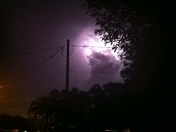 Lightning in Bridge City